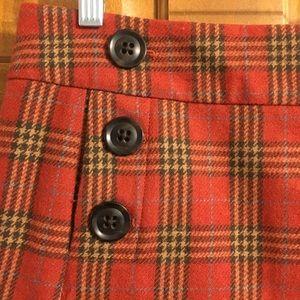 GAP Skirts - Wool plaid gap skirt size 2